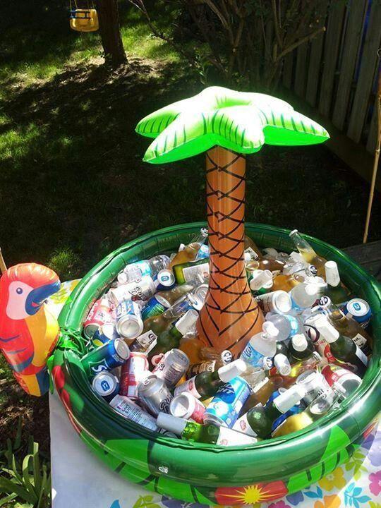 decorazioni tropicali per una festa 5