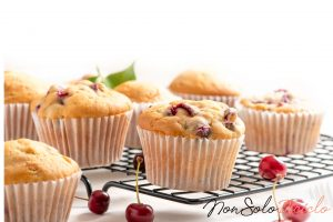 muffin alle ciliegie senza burro 3