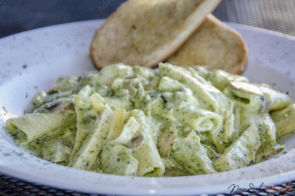 pasta alla crema di zucchini 6