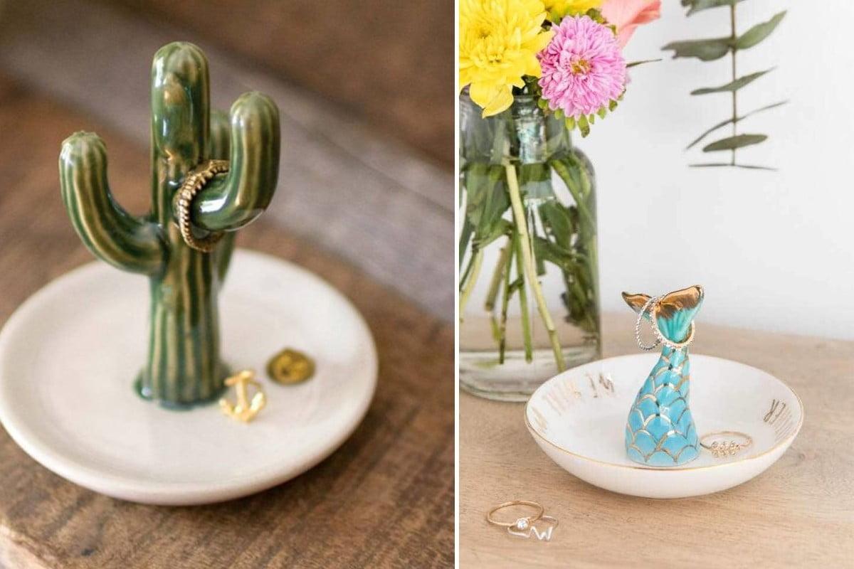 portagioielli in ceramica unici e portagioielli ceramica