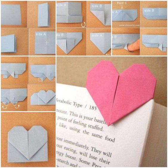 segnalibri di carta semplicissimi e 7