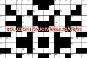 soluzioni cruciveba06 22 2021