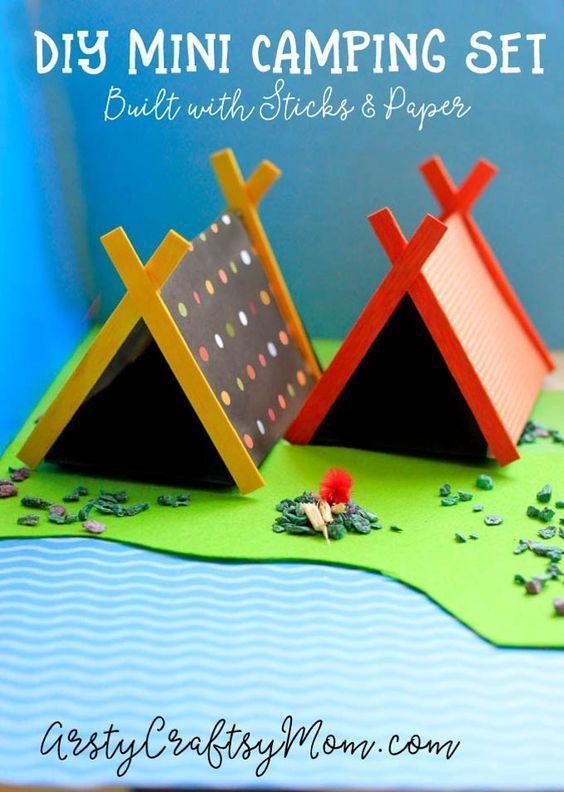 villaggi in miniatura con le 7