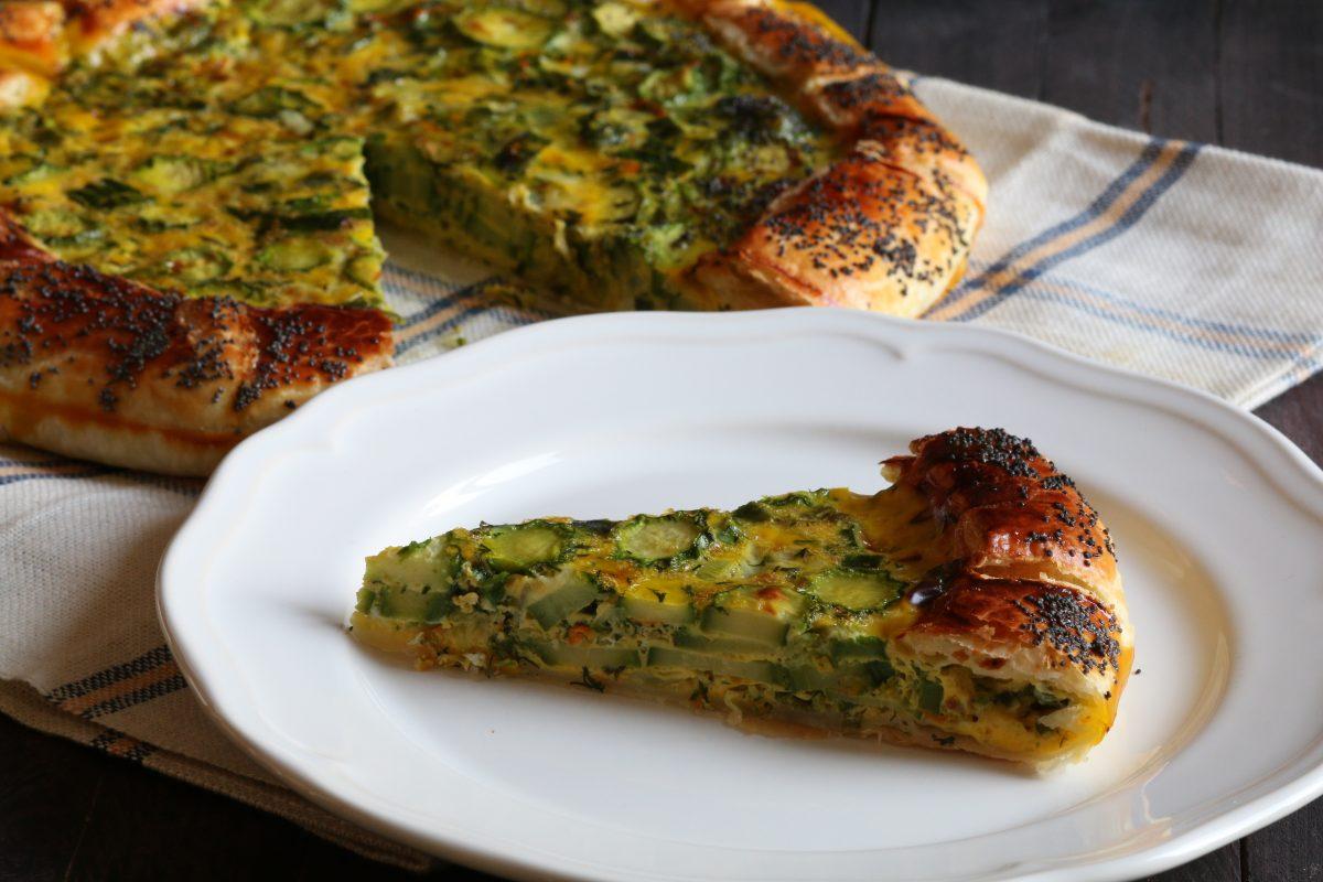 la crostata di zucchine la AdobeStock 147549542