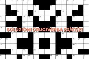 soluzioni cruciveba07 23 2021