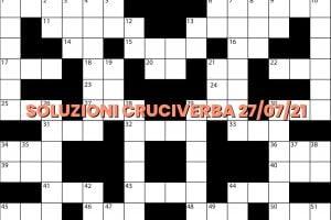 soluzioni cruciveba07 27 2021