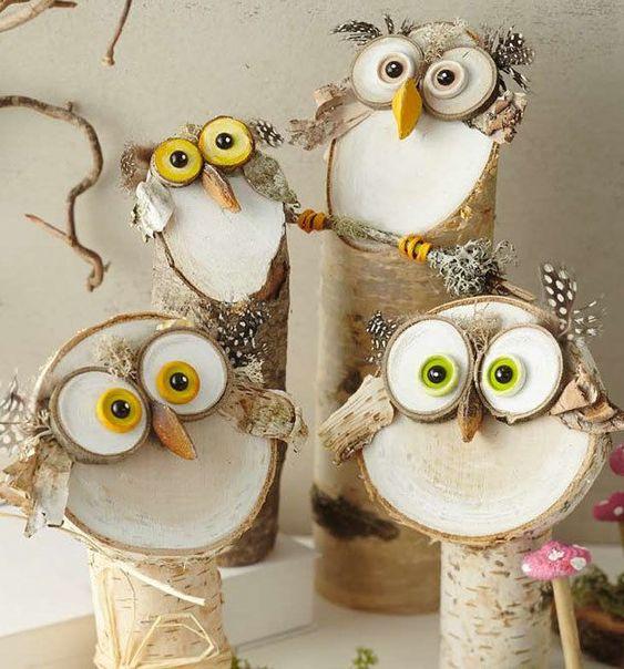 Tronchetti di legno: idee per spettacolari decorazioni estive!