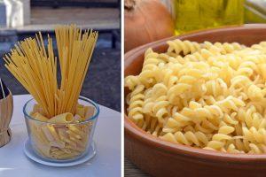 pasta la differenza tra peso pasta cruda pasta cotta