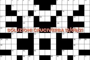 soluzioni cruciveba09 12 2021