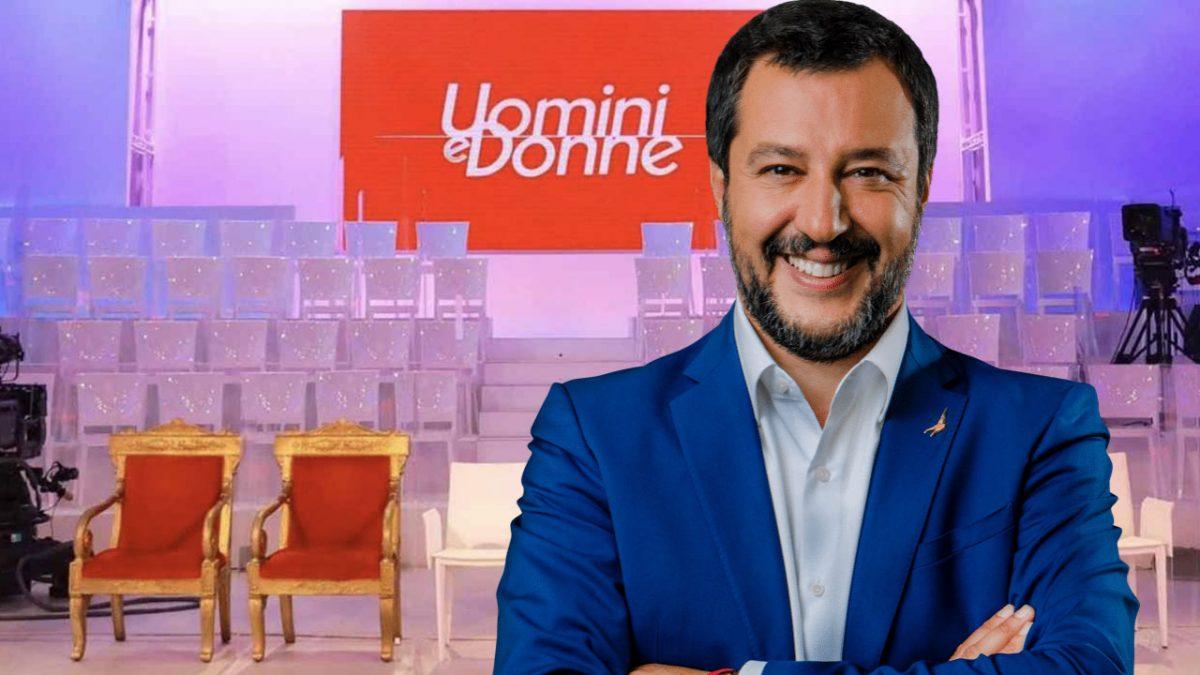 uomini e donne ex tronista Uomini e Donne tronista Lega Salvini