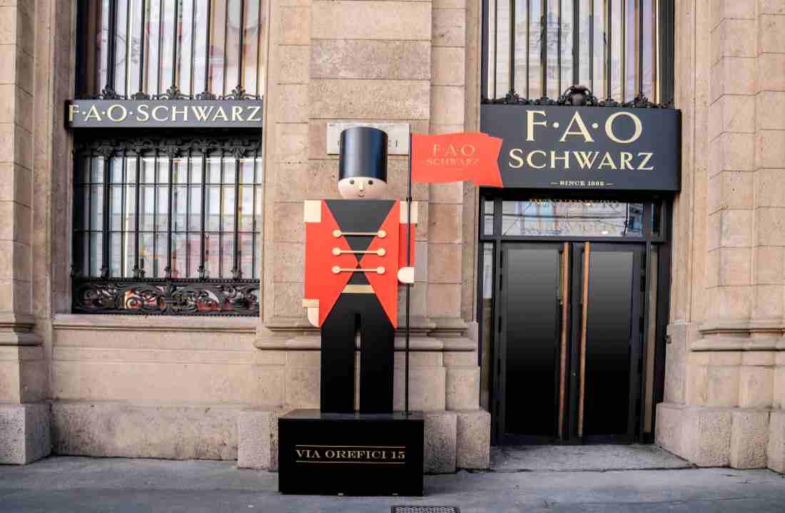 FAO Schwarz, il viaggio delle meraviglie per adulti e piccini