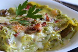 lasagna con crema di zucchine lasagna crema di zucchine