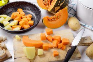 zucca e patate in padella 3