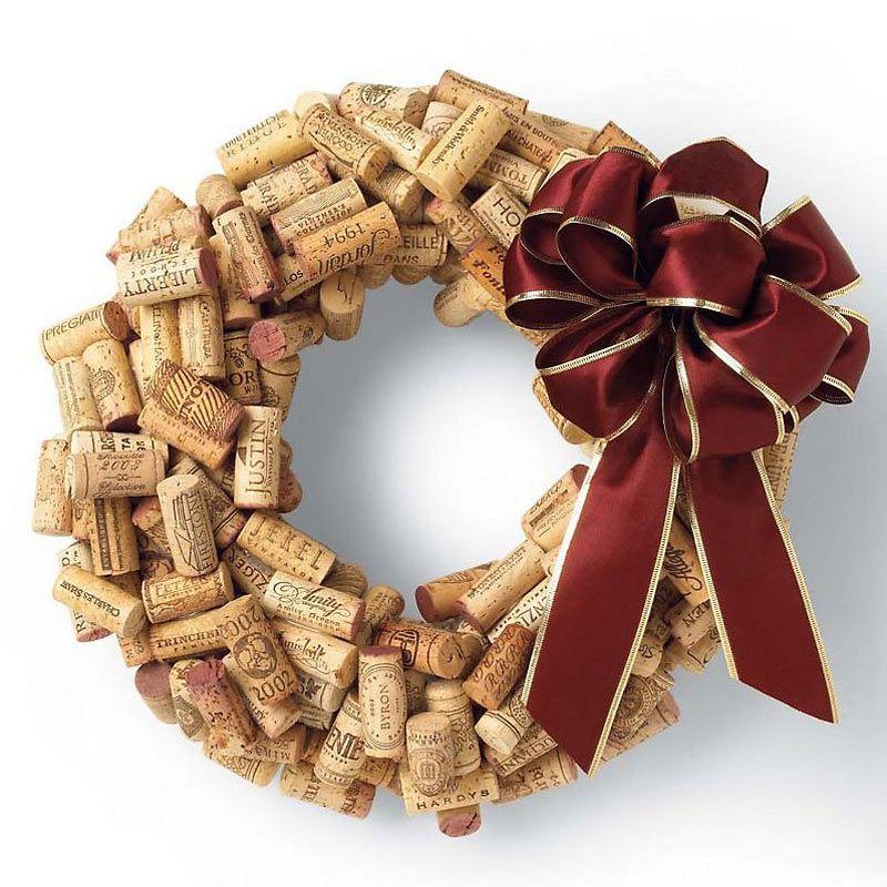 Come riciclare i tappi di sughero a Natale. 20 idee strepitose